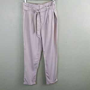 GAP Softly Pleated Khaki Ankle Pants 10 NWT